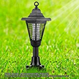 Zapper Killer UV Lamp Garden Yard Walkway Lawn Landscape Outdoor Light