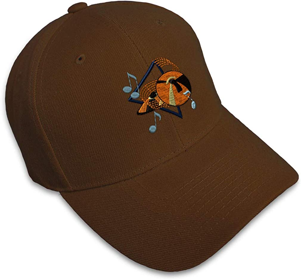 Custom Baseball Cap Cymbals Style A Embroidery Acrylic Dad Hats for Men /& Women