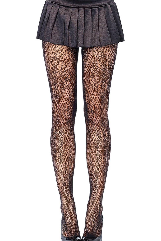 Connu Collant Résille Noir Sexy Rosace Florentine: Amazon.fr: Vêtements  AH71