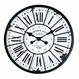 Creative Co-op DE1176 Turn of The Century Style Metal and Wood Wall Clock Review