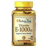Puritan's Pride Vitamin E 1000 IU Softgels, 100