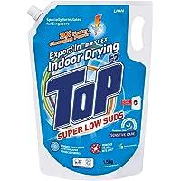 Top Concentrated Liquid Detergent Super Low Sud Sensitive Care, 1.5kg Refill