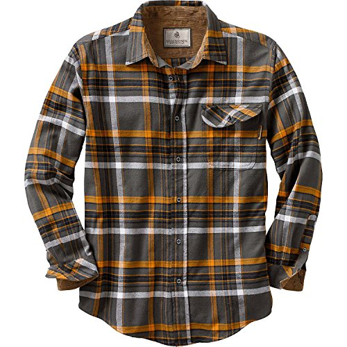 Legendary Whitetails Buck Camp Flannels Platinum Plaid XXX-Large