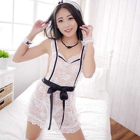 Liu Sensen Lencería para Mujeres Sexy Enfermera Criada Uniforme ...