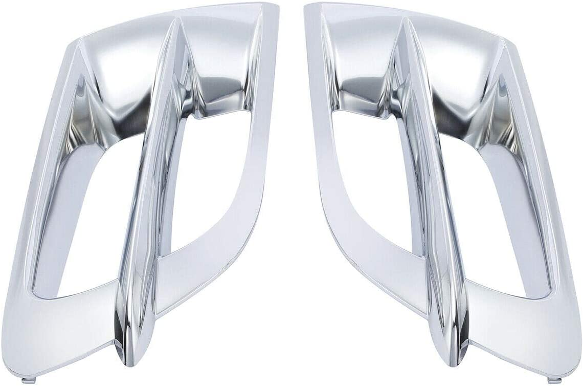 TCMT Chrome ABS Left Right Fairing Accent Grilles Fit For Honda Goldwing GL1800 01-11 10 09