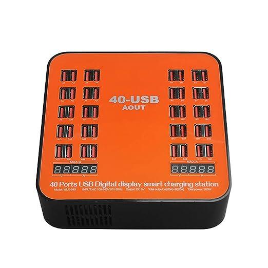 Pantalla LCD inteligente cargador para teléfono móvil ...