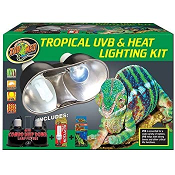 Amazon Com Zoo Med Aquatic Turtle Uvb Amp Heat Lighting