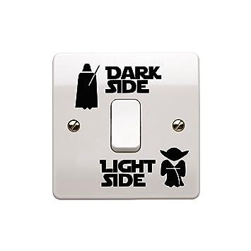 Epic modz star wars light side dark side light switch vinyl decal epic modz star wars light side dark side light switch vinyl decal sticker black sciox Gallery