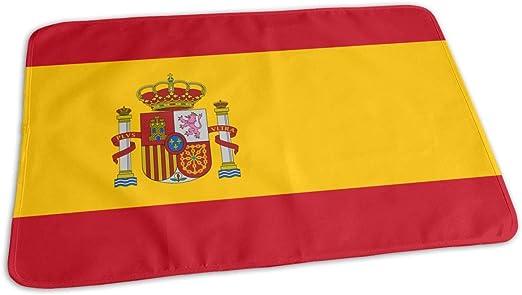 Voxpkrs Cambiando los trazadores de líneas Bandera de España Portátil Cambiador de pañales para bebés: Amazon.es: Hogar