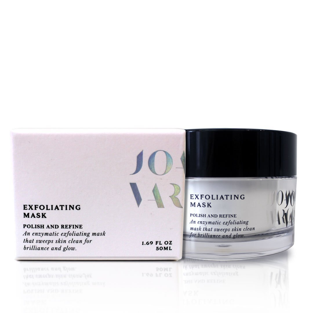 Exfoliating Is The Secret to Glowing Skin - The Exfoliating Mask By Celebrity Facialist Joanna Vargas - A Natural Enzyme Facial Peel and Exfoliant - Increase Cell Turnover Joanna Vargas Skin Care