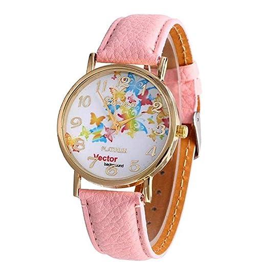 Relojes de Mariposa para Mujeres, Relojes de señora analógicos únicos de Moda Relojes Femeninos a la Venta Relojes de Pulsera Ocasionales para Mujeres Reloj ...
