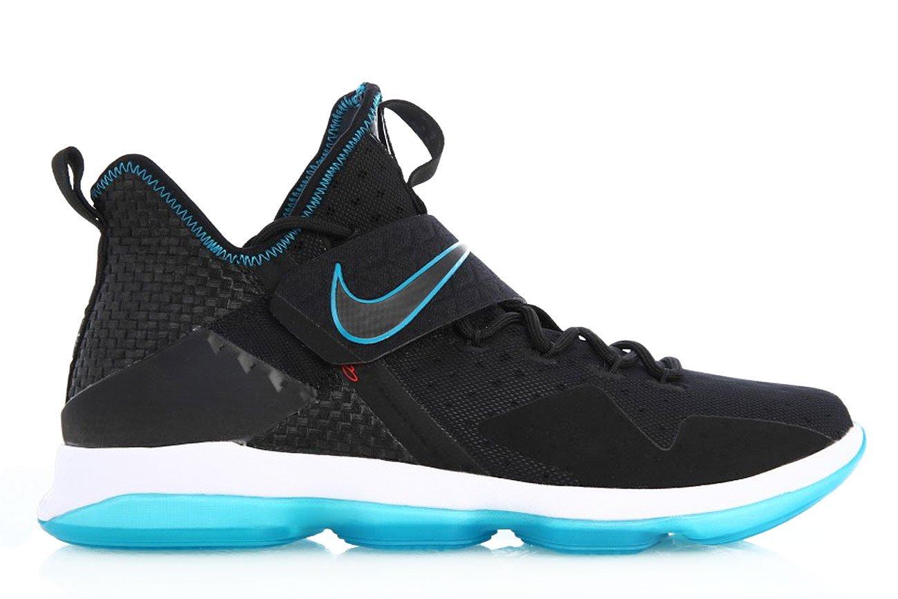 Nike Lebron XVI PRM Men's Basketball Shoes Black/Glass Blue, 13 by NIKE