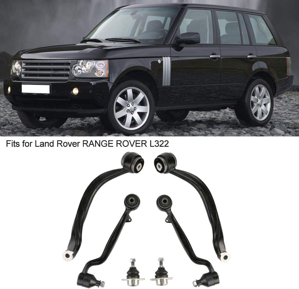 6pcs//set Car Upper /& Lower Arms Front Suspension Arms Kit LR018344 for L322 Wishbone Arm