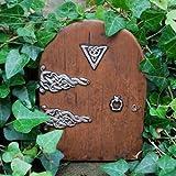 Magical Doorway Fairy Door Large - miniature door for skirting boards, walls and trees