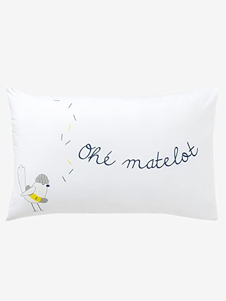 Taie D'oreiller Marin Plaisir Taille : 40X60 cm | Taie d