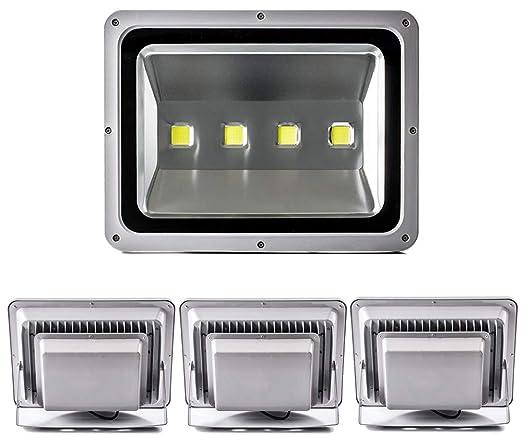 Leetop 4X 200W Foco LED Proyector de Luz Lámpara IP65 Impermeable ...