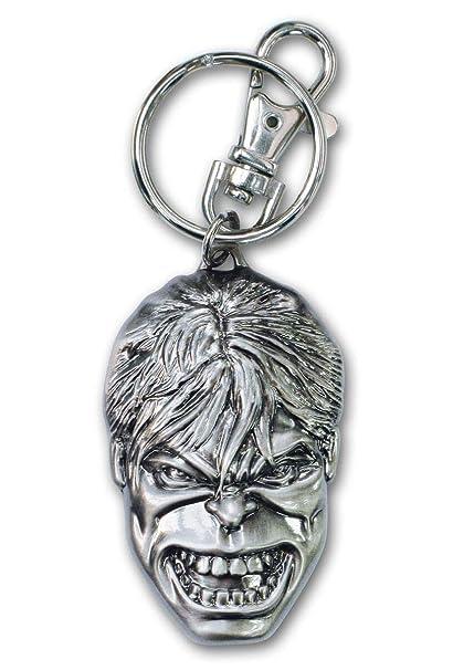 Amazon.com: The Incredible Hulk Pewter Llavero: Toys & Games