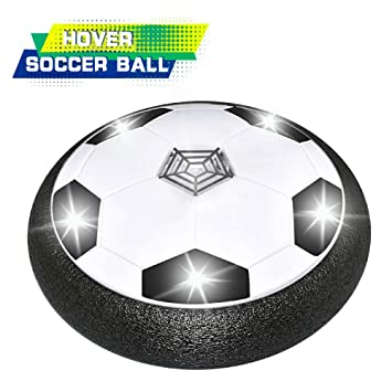 Dreamingbox - Balón de fútbol con Luces LED para niños, Negro ...