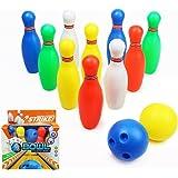 yoptote Bowling Set Palla 12 Pezzi Giocattoli di Bowling per Bambini 3 Anni in su