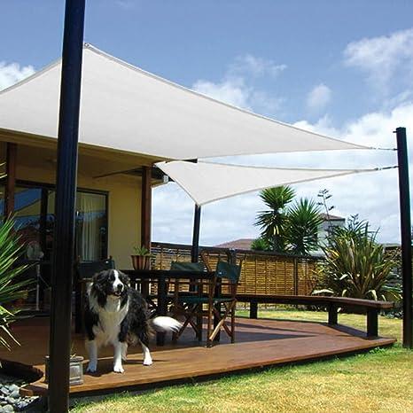PAPILLON 8091189 Toldo Vela Sombra Jardin Cuadrada 3, 6x3, 6 Metros Blanca: Amazon.es: Jardín