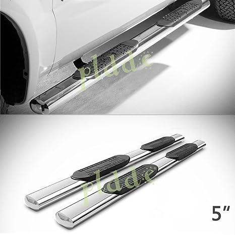 Amazon.com: PLDDE - 2 barras laterales ovaladas de acero ...