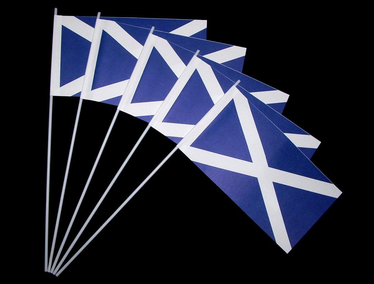 Papierfähnchen: Schottland 50er Packung: Amazon.de: Küche & Haushalt