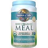 Garden of Life 生命花园 代餐粉 - 未加工植物蛋白粉,微甜,素食,无麸质,36.6盎司(1038克)