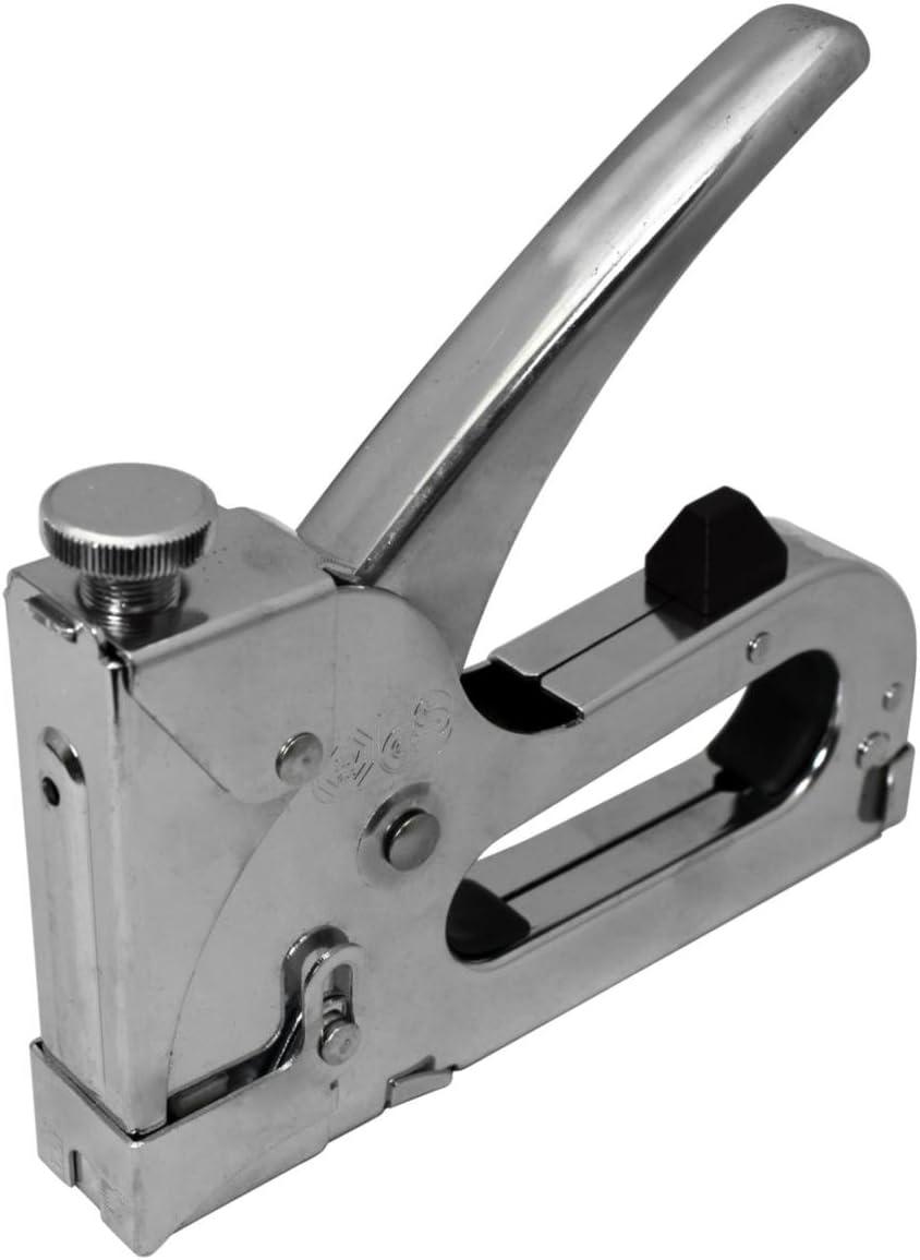 Dekton 3 en 1 Heavy Duty Agrafeuse 600 agrafes 4mm-14mm DT40711 BRICOLAGE sellerie
