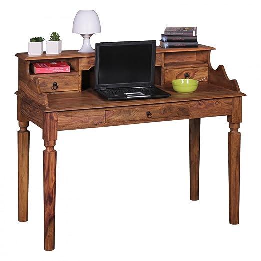 Home Collection24 Escritorio Kada Madera Sheesham   Secreter 115 x ...