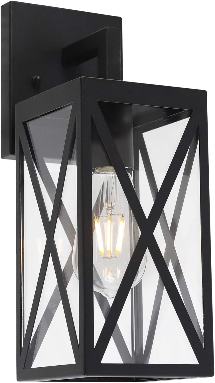 Outdoor Lighting Melucee 3 Light Outdoor Chandelier Lighting Black Lantern Pendant Light Exterior Ceiling Light Fixtures With Clear Glass For Patio Porch Entryway Tools Home Improvement Bubt Edu Bd