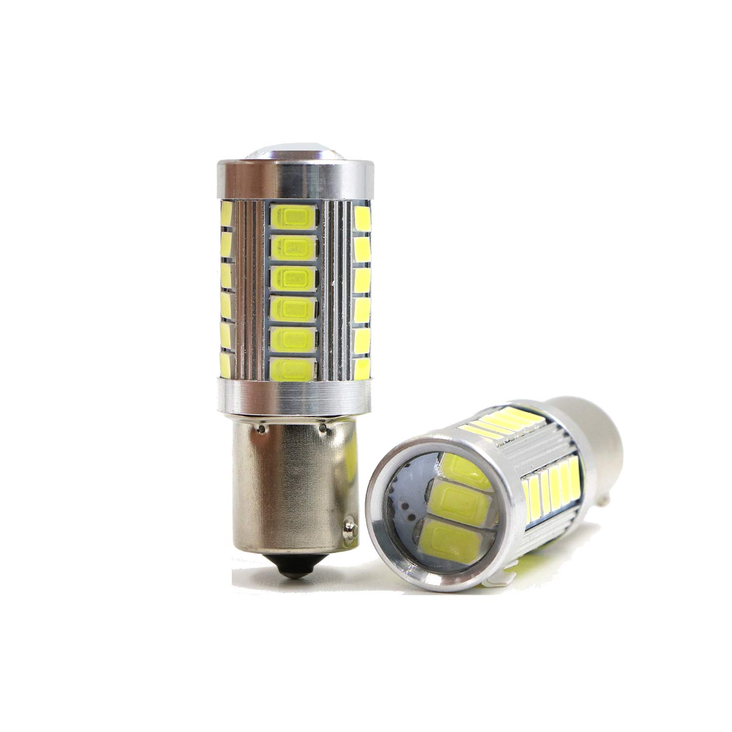 Pack of 2 Super Bright White-6000K Light 3030 SMD 24 LED Chipsets T15 Bulbs 912 917 918 921 for Back up//Reverse Lights