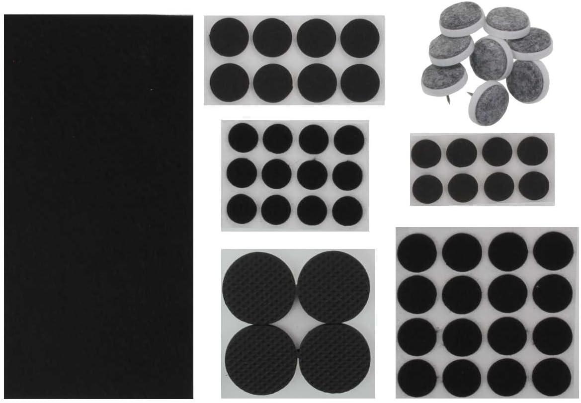 K & G gp012/020 Fieltro Set stuhg Escalera & Moss Goma Deslizadores de Fieltro Redondos (| selbsklebend | Taco (| | Protector de Suelo | a los arañazos Protector para Muebles: Amazon.es: Juguetes y juegos