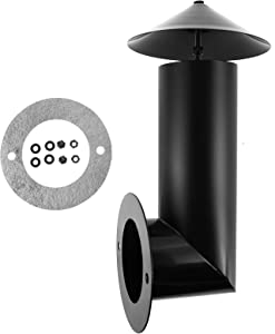 Grill Smoke Stack, Smoker Chimney Replacement Part for Pit Boss, Traeger, Camp Chef and Other Pellet Grills Smokers