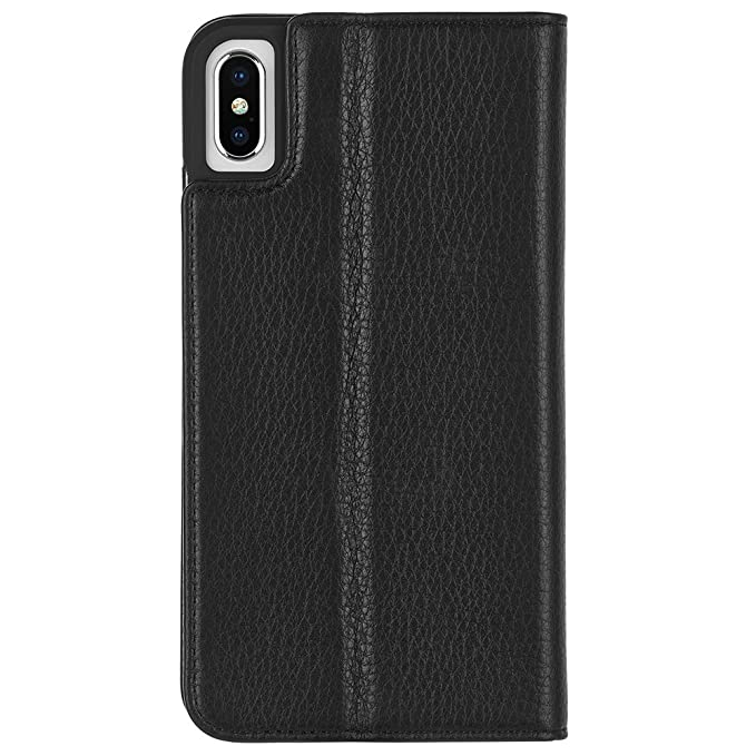 f42c145d2906 Amazon.com: Case-Mate - iPhone XS Max Folio Case - LEATHER WALLET ...
