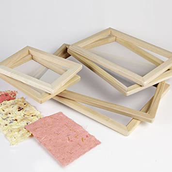 making a picture frame paper making frame deckle a5 a5 amazoncouk toys games