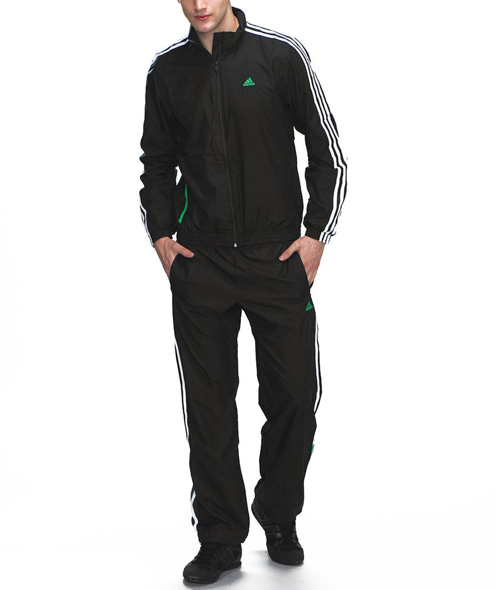 adidas Chándal para hombre BTS Logo Woven Negro de color blanco ...