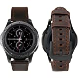 iBazal 20mm Watch Straps Qucik Release Leather Metal Milanese Silicone Watch Bands for Samsung Galaxy Watch 42mm Active/Gear Sport/Gear S2 Classic, Huawei Watch 2, Moto, Pebble, Ticwatch, Fossil, Moto, Nokia, Mens Womens Watch, Multi-Choice