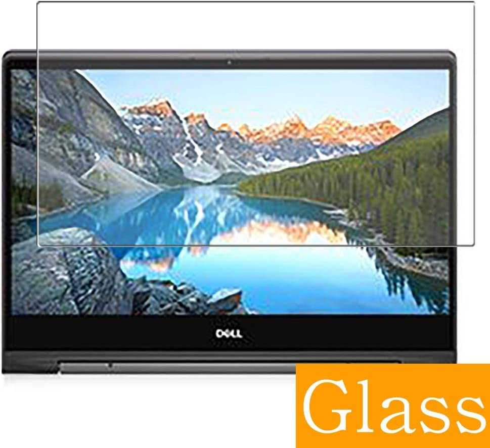 """Synvy Tempered Glass Screen Protector for Dell Inspiron 15 7000 (7591) 2 in 1 15.6"""" Visible Area Protective Screen Film Protectors 9H Anti-Scratch Bubble Free"""