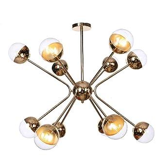 YFMYY Nórdica moderna iluminación de la lámpara 12 luces LED G4 ...
