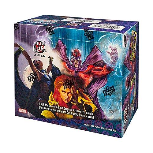 2018 Upper Deck Fleer Ultra X-Men Hobby Box from Fleer Ultra X-Men