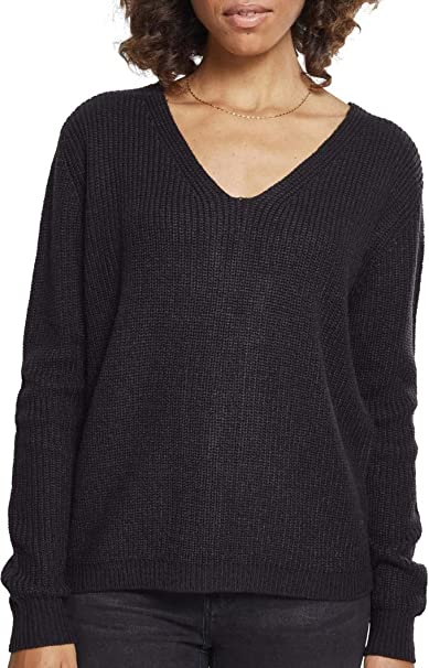 Urban Classics Ladies Back Lace Up Sweater Sudadera para