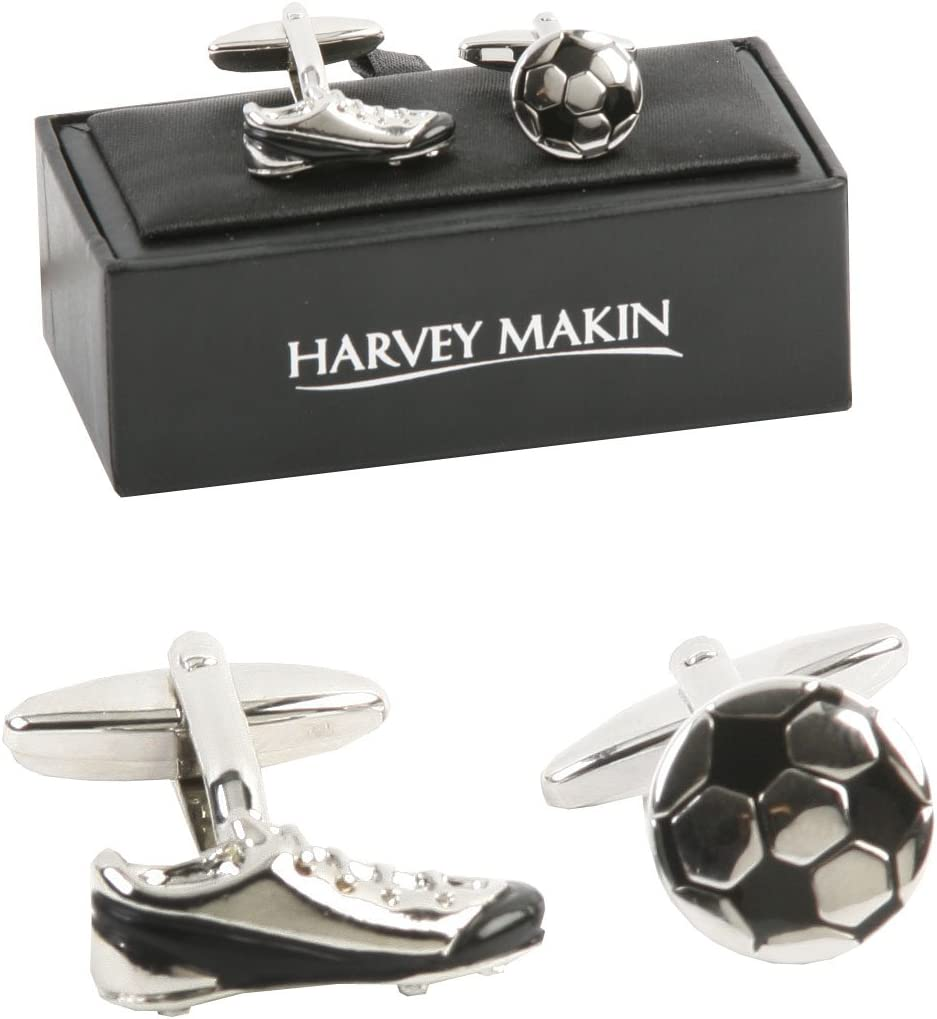 Gifts For Him Harvey Makin - Gemelos para camisa, diseño de bota y ...
