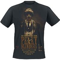 Peaky Blinders - Gangs Of Birmingham EST 1919 Hombre Camiseta Negro M, 100% algodón, Regular