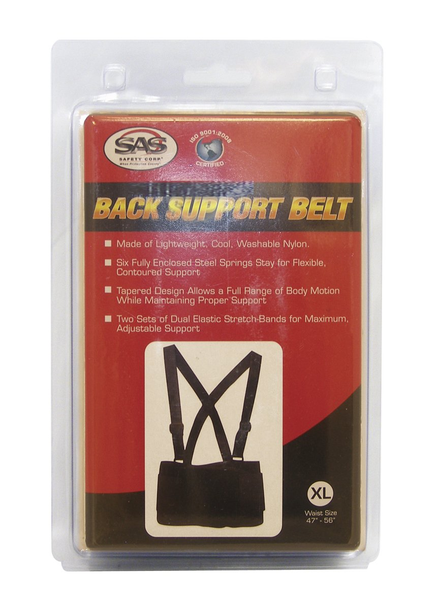 SAS Safety 7162 32-38 Inch Deluxe Back Support Belt, Medium by SAS Safety (Image #2)
