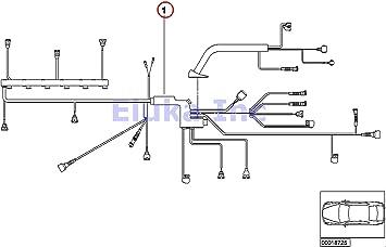 bmw x5 wiring harness amazon com bmw genuine engine wiring harness for engine module x5  bmw genuine engine wiring harness