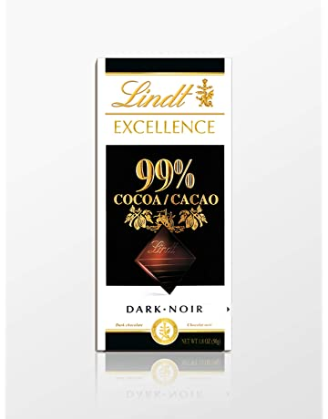 Lindt Excellence Tableta de Chocolate Negro 99% Cacao - 50 gr