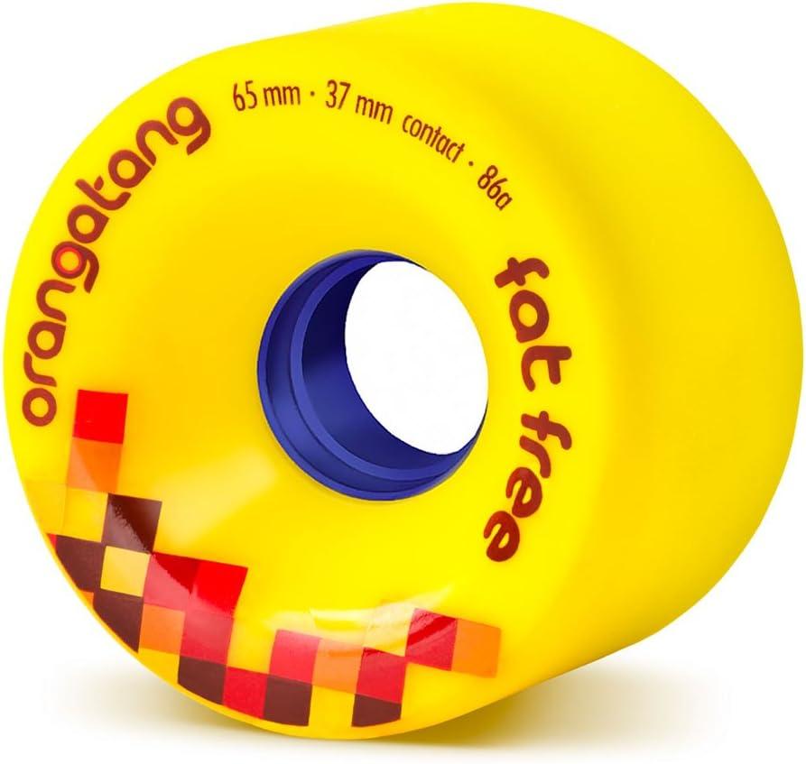 Orangatang Fat Free 65mm Freeride Longboard Wheels