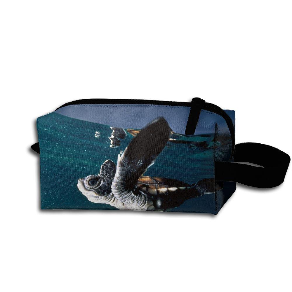 Makeup Cosmetic Bag Animals National Ocean Zip Travel Portable Storage Pouch For Men Women
