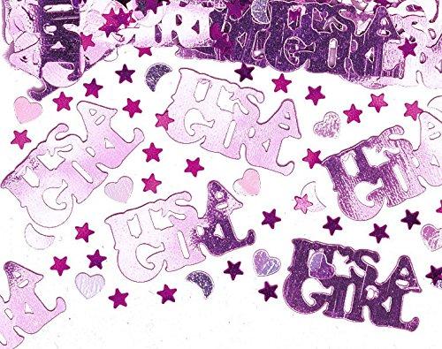 Kids Party World XXL 58 Teile Baby F/ü/ßchen in Pastell Rosa Babyshower 8 Personen