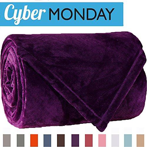 Sonoro Kate Fleece Blanket Soft Warm Fuzzy Plush Throw Light
